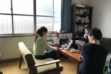 寺崎ケアマネ(旧姓田邉)Yahooニュース取材を受ける。