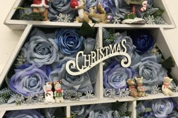 クリスマスリース プレゼントしていただきました!