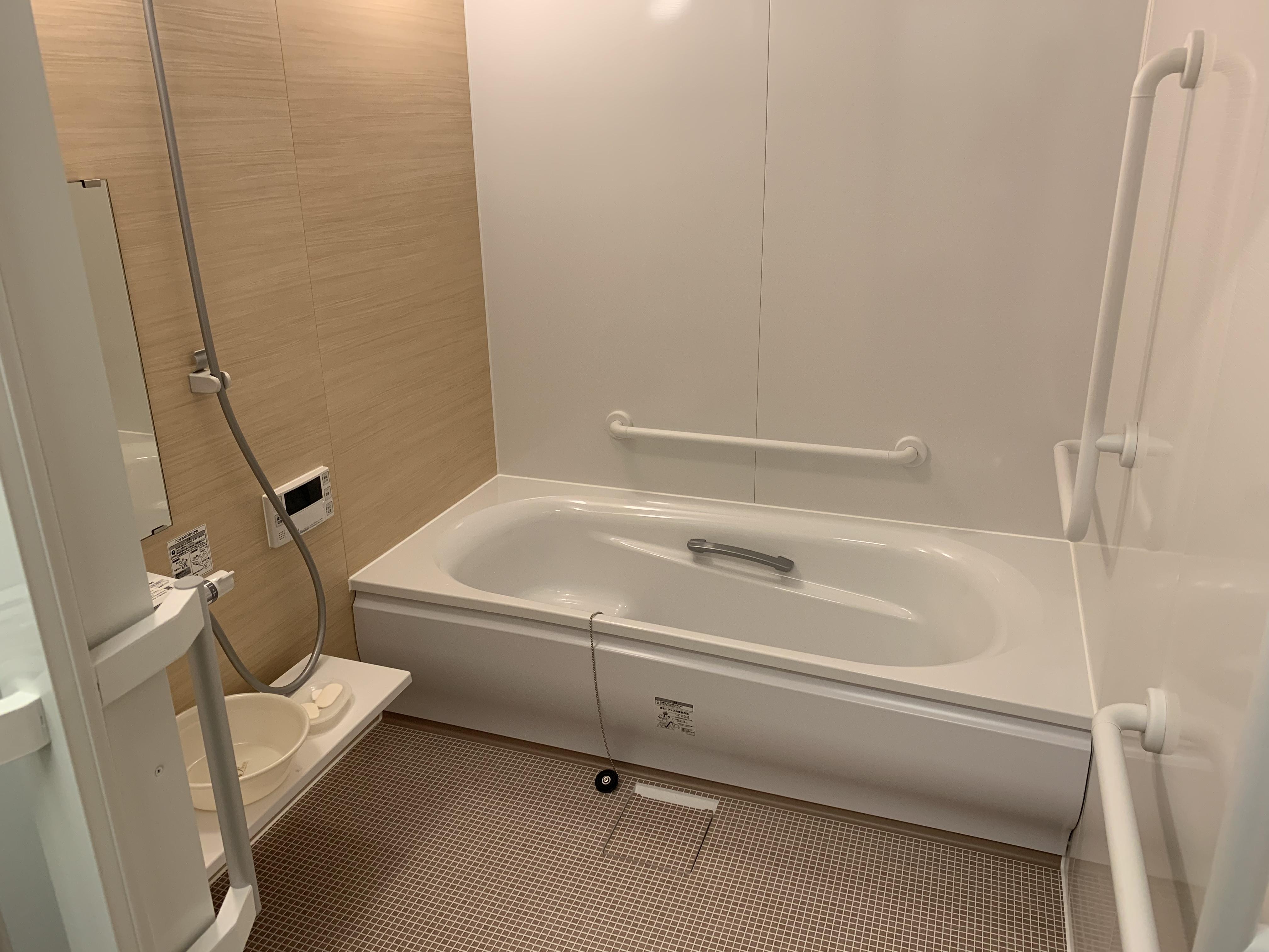 デイサービスゆたかなビレッジ 浴室改装しました。